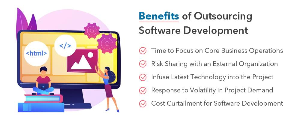 software development outsourcing  benefits