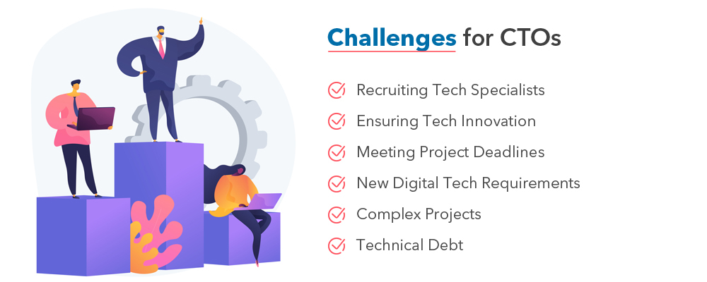 software development outsourcing challenges for CTOs