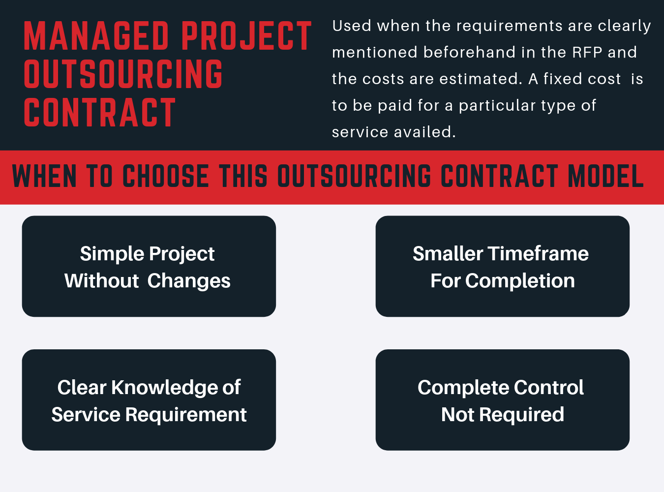 managed project outsourcing contract