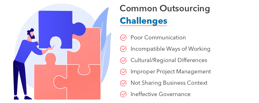 software development outsourcing  common challenges