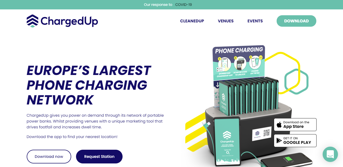 product stories for entrepreneurs  ChargedUp