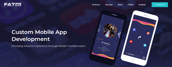 Custom Mobile App Development Services Provider Company - FATbit (1)