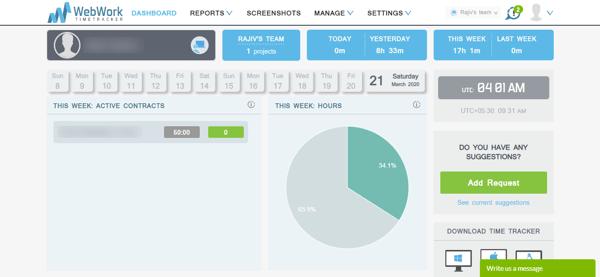 Dashboard - WebWork Tracker (1)