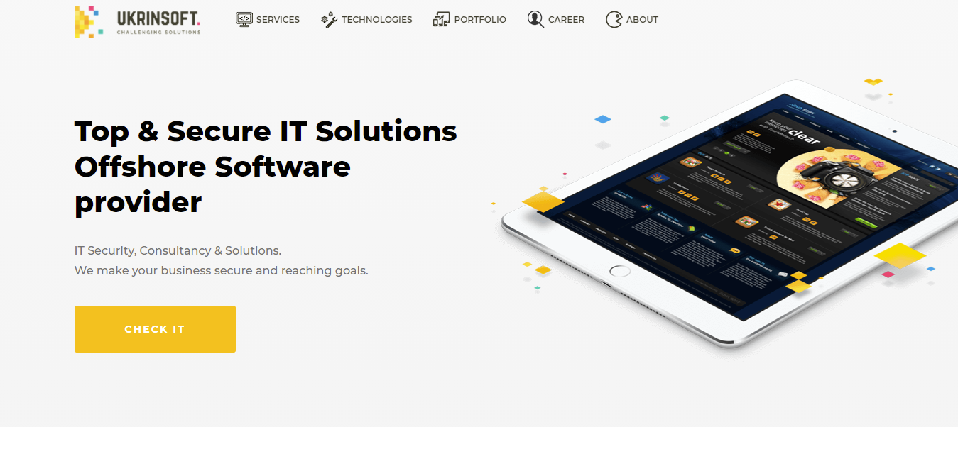 Software Outsourcing Companies UkrinSoft