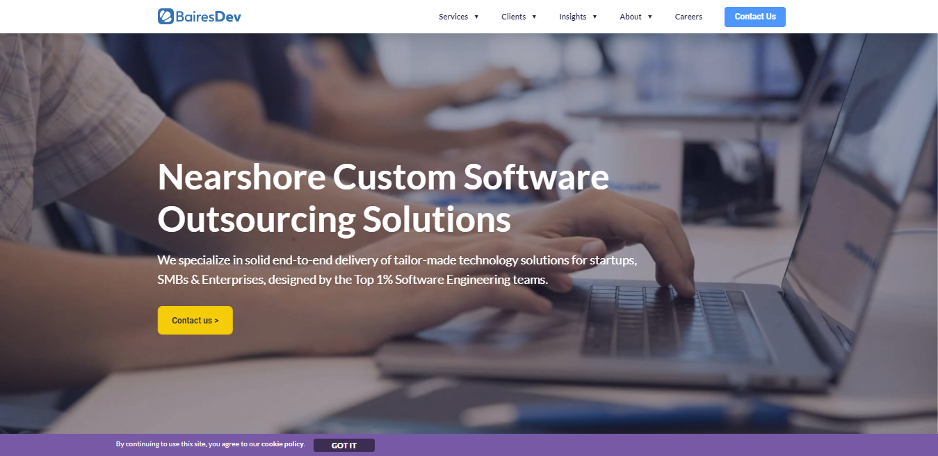Software Outsourcing Companies BairesDev