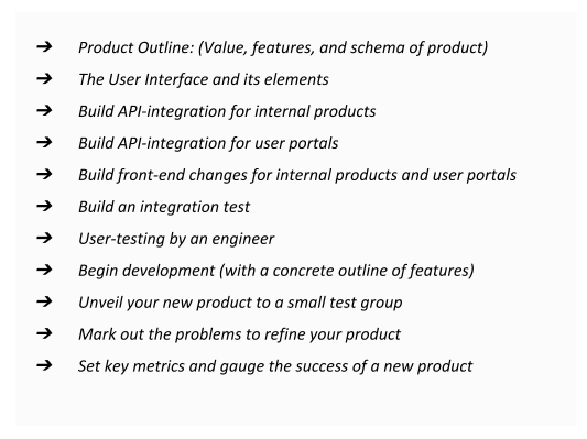outsource Product development