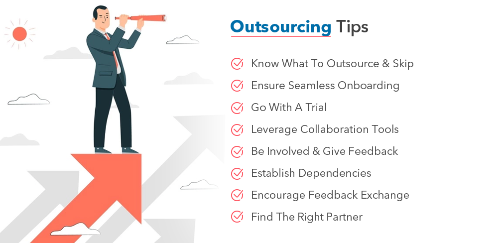 software development outsourcing  tips