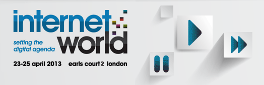 Meet us at the Internet World 2013 in London