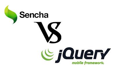 JQuery Mobile vs. Sencha Touch
